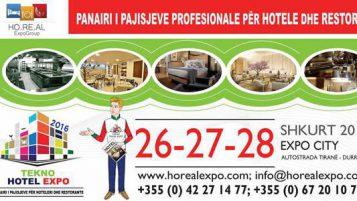 Ekspozoni ne Panairin Tekno Hotel Expo