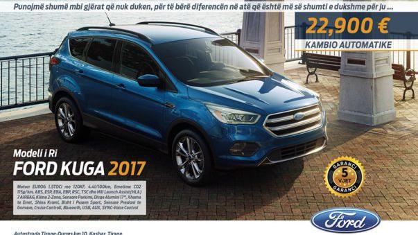 New Ford Kuga me Kambio Automatike 22 900 Eur